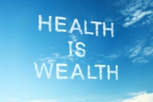 "22519793 - proverb ""health is wealth"""